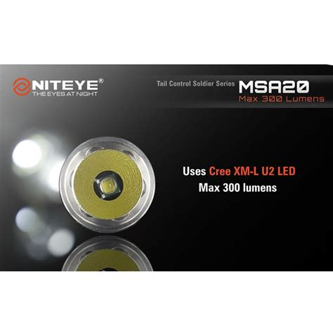 Niteye Eye30 Senter Led Cree Xm L U2 2000 Lumens niteye msa20 senter led cree xm l u2 300 lumens black jakartanotebook