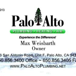 Palo Alto Plumbing Heating And Air by Palo Alto Plumbing Heating Air Loodgieters 716 San