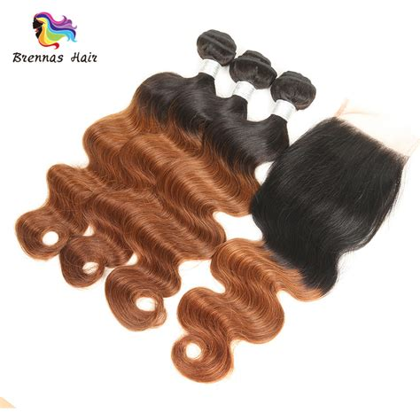 Closure Baby by Grade 8a Wave 3bundles With 4x4 Lace Closure Baby