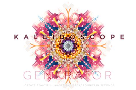 kaleidoscope pattern maker online kaleidoscope generator patterns on creative market
