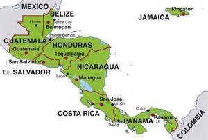 america map countries and capitals map of central america countries and capitals