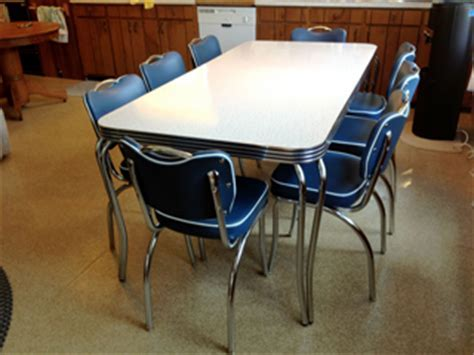 1950's retro kitchen table and chairs   Ohio Trm Furniture