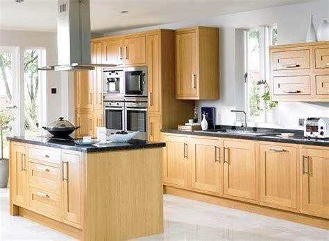 photo cuisine en bois quand la cuisine en bois naturel joue la tendance