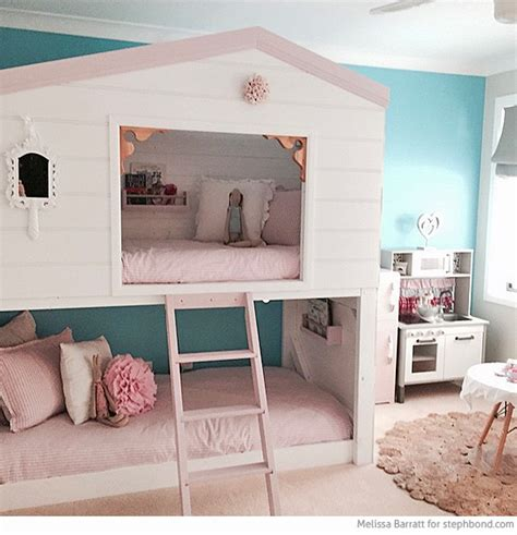 bunk bed bedroom ideas bondville amazing loft bunk bed room for three girls