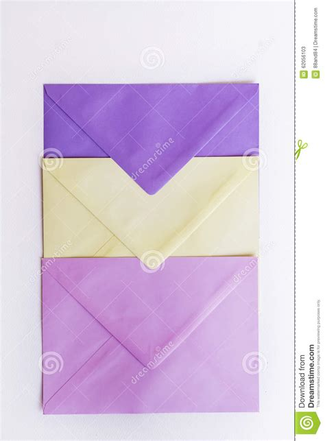colored envelopes colored envelopes stock photography cartoondealer