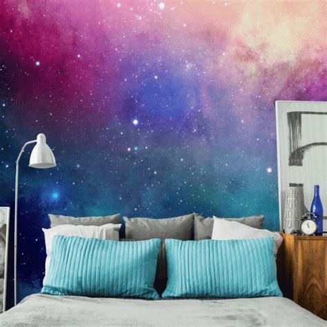 galaxy wallpaper room water color galaxy wall mural eazywallz