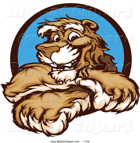 mascot clipart royalty free stock big cat designs of branding logos