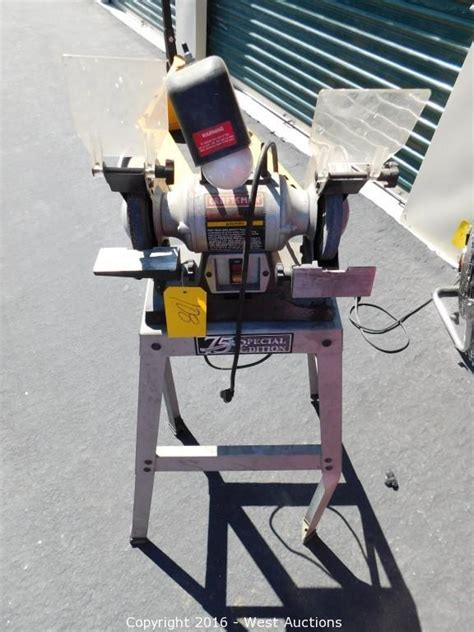 craftsman bench grinder stand west auctions auction bankruptcy auction of interface
