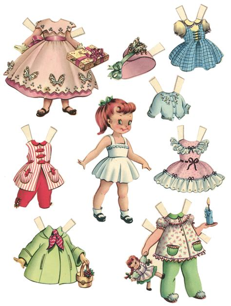 Paper Doll For - vintage images paper dolls