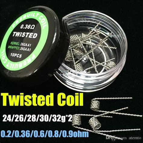 Coil Prebuilt Coil Jadi Coil Vape prebuilt coils premade coil clapton coil wire coil