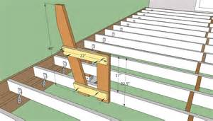 deck plans outdoor deck plans deck bench plans free
