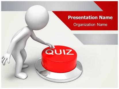 Quiz Powerpoint Template Background Subscriptiontemplates Com Quiz Template Powerpoint