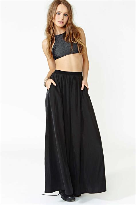 full swing skirt nasty gal full swing maxi skirt style dresses