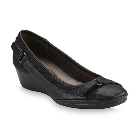 wedge shoes comfort i love comfort women s como black wedge shoe