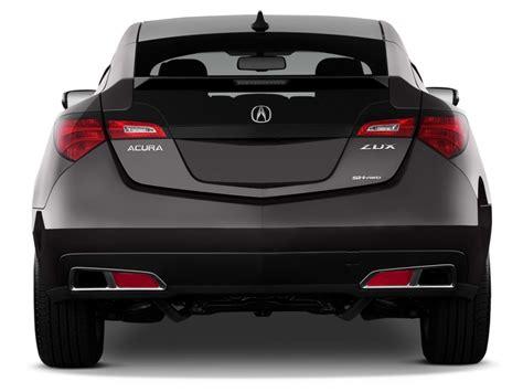 2012 acura zdx hatchback