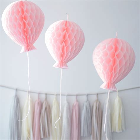 Tissue Paper Decorations by Tissue Paper Honeycomb Balloon Decorations Custom Colors