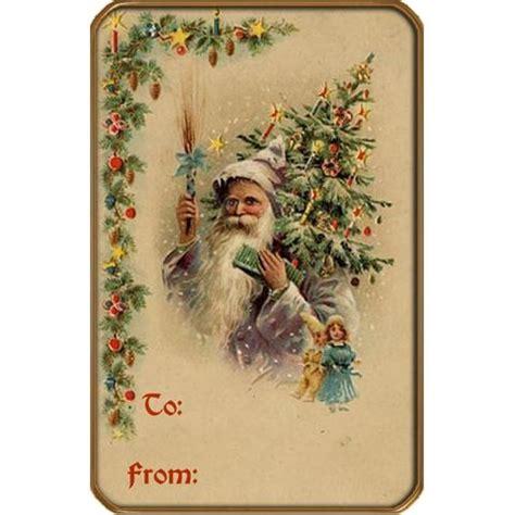 printable victorian christmas tags gift tag printables pinterest