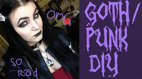 how to do punk goth punk diy tips and ideas youtube
