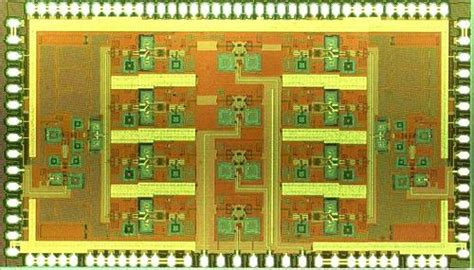 two antenna beam 11 15 ghz phased array rfic targeted at satellite systems and advanced radars