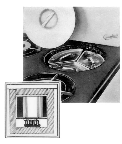 Chambers Cooktop Parts charming vintage chamber s stove early 1940 s model b