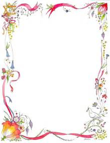 free decorative borders coloring pages