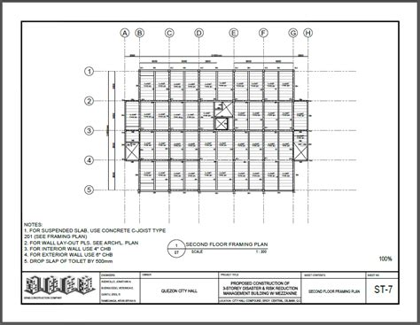 2nd floor framing plan grab construction corporation