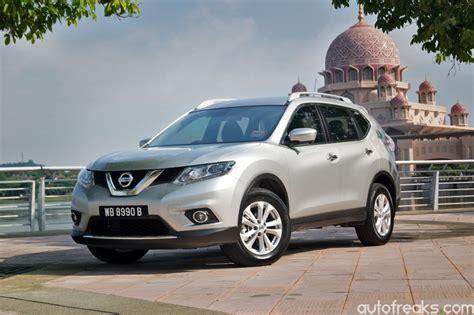 review nissan x trail test drive review nissan x trail 2 5 4wd autofreaks