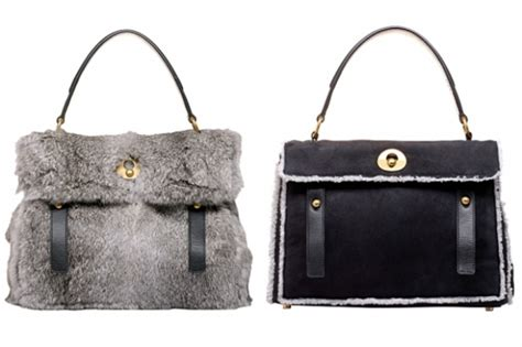 The Yves Laurent Handbags Fall 2008 Collection by Yves Laurent Fall Winter 2011 2012 Bags