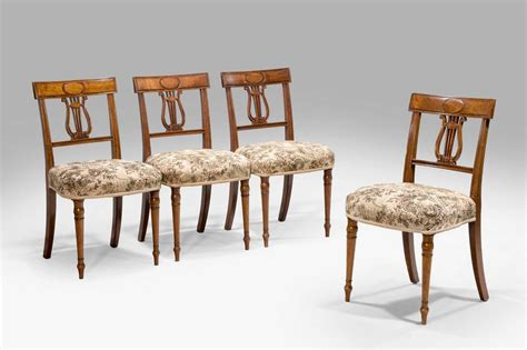 Period Dining Chairs Set Of Four George Iii Period Dining Chairs For Sale At 1stdibs