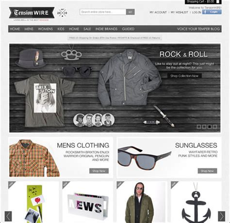 product design inspiration sites 30 professional looking e commerce web designs hongkiat