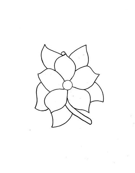 traceable flower patterns free coloring pages on art
