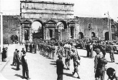 ieri a porta a porta l ingresso degli alleati a porta maggiore roma ieri oggi