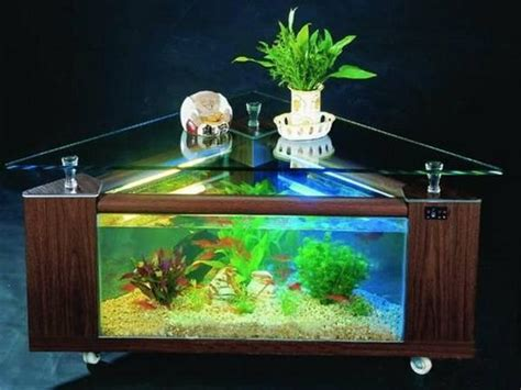 Table Aquarium Design by Useful Tips For Successful Interior Decorating With Aquariums