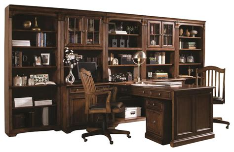 furniture brookhaven peninsula desk traditional