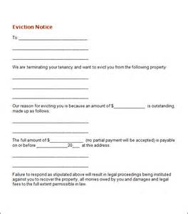 eviction notice template 24 free eviction notice templates excel pdf formats