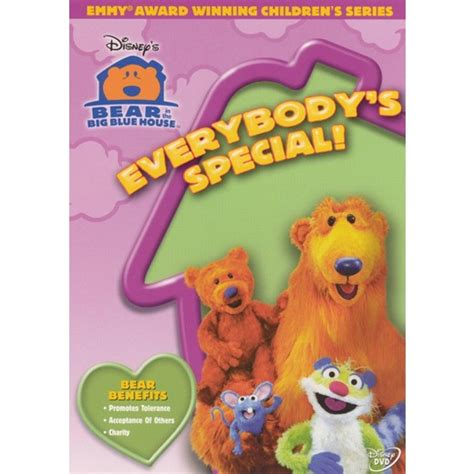 bear inthe big blue house dvd bear in the big blue house everybody s special target