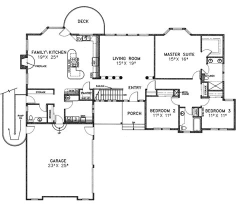 newfeld luxury ranch home plan 085d 0231 house plans and
