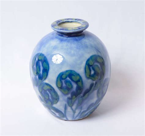 camille tharaud a porcelain of limoges deco vase at