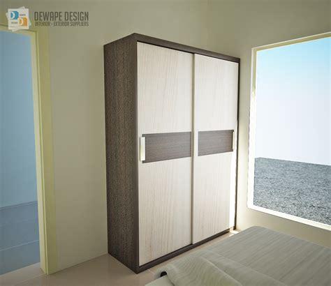 Lemari Kayu Di Malang lemari pakaian minimalis malang dewape design interior