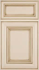 Wholesale Cabinet Companies by Mitered Door Painted Antique White With Espresso