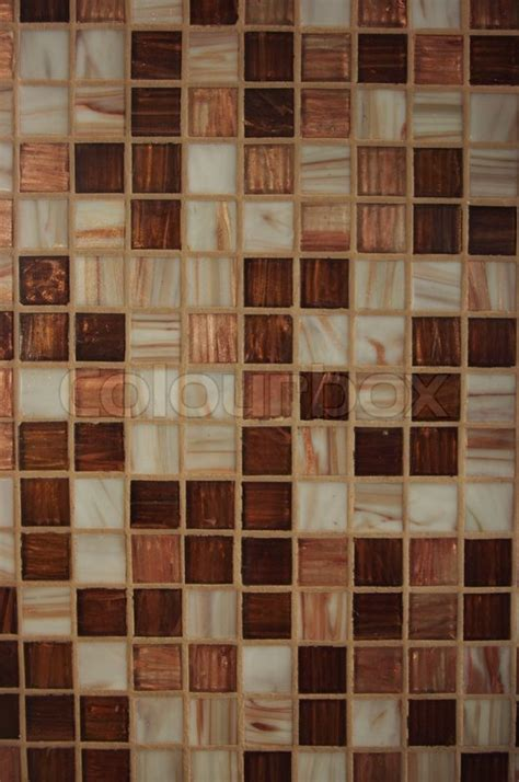 Texture Kitchen by Texture Of Brown Kitchen Tile Stock Photo Colourbox