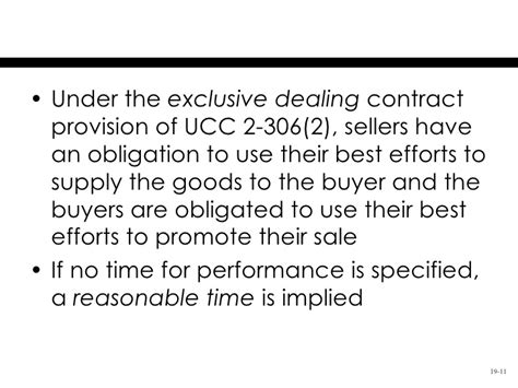 Ucc Section 2 306 by Chapter 19 Formation Of Terms Of Sales Contracts