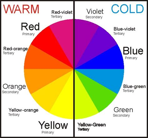 cool and warm colors color theory pro
