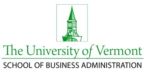 Mba Programs In Vermont of vermont school of business administration