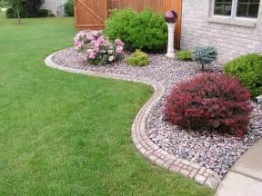 best 25 rock flower beds ideas on pinterest landscape