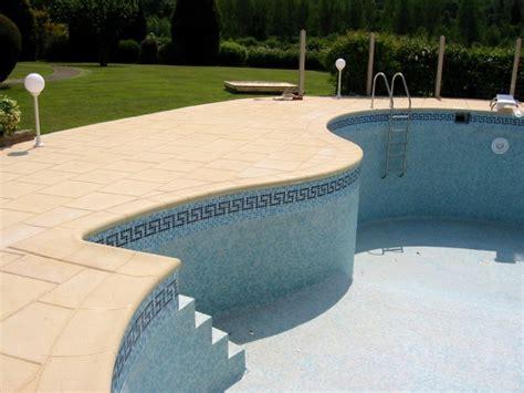 swimming pool edging