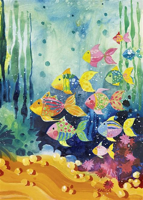 Heye Puzzle 1000 Pieces Shoal Of Fish puzzle lovely times shoal of fish heye 29779 1000 pi 232 ces