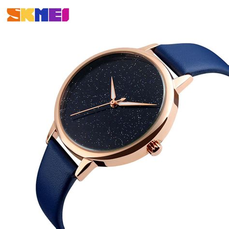 Jam Tangan Casual Skmei Tahan Air jual jam tangan wanita skmei analog casual leather