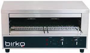 Brushed Steel Toaster Birko Toaster Griller 15 Amp 1002002