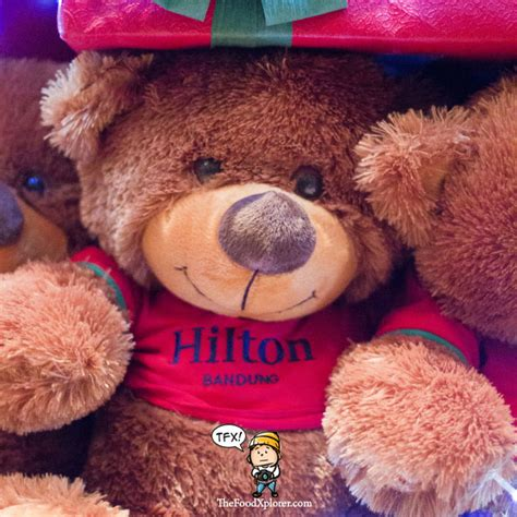 Boneka Teddy Hospitality dinner new year hotel bandung